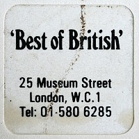 Best of British label