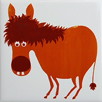 Donkey tile - special