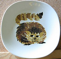Cheshire Cat dish by Weatherby